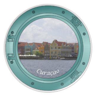 Curacao Porthole Plate