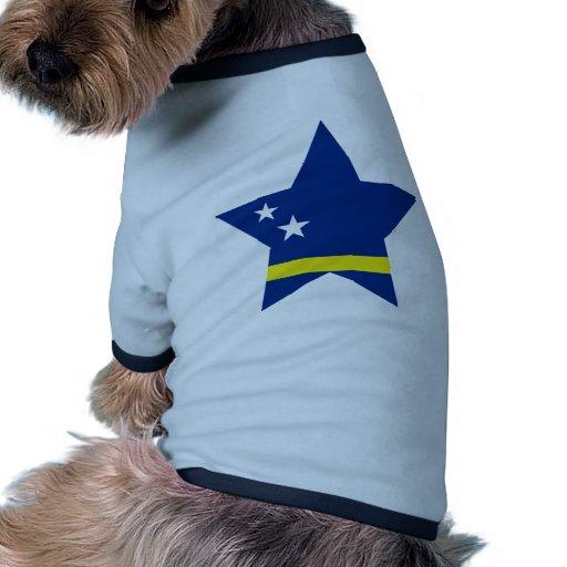 Curacao Star Ringer Dog Shirt