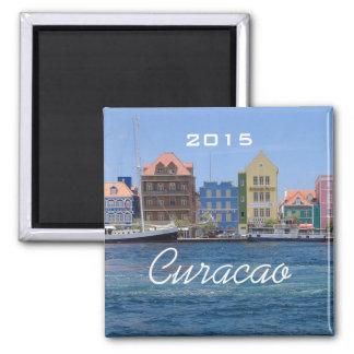 Curacao Travel Seaside Fridge Magnet Change Year