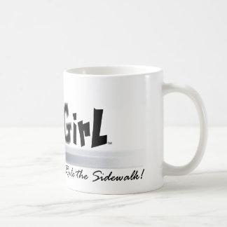 Curb Girl Basic White Mug
