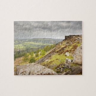 Curbar Edge in Derbyshire, the Peak District photo Jigsaw Puzzle