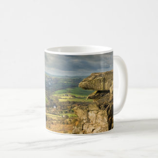 Curbar Edge view, Peak District souvenir photo Coffee Mug