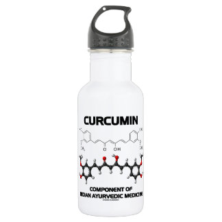 Curcumin Component Of Indian Ayurvedic Medicine 532 Ml Water Bottle