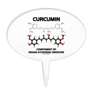 Curcumin Component Of Indian Ayurvedic Medicine Cake Pick