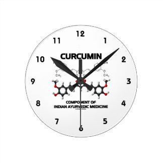 Curcumin Component Of Indian Ayurvedic Medicine Clock