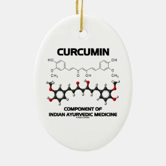 Curcumin Component Of Indian Ayurvedic Medicine Christmas Ornament