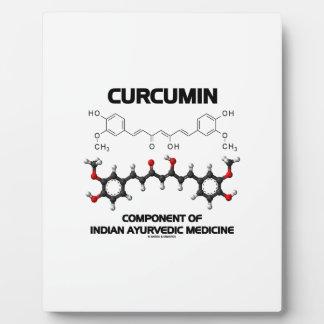 Curcumin Component Of Indian Ayurvedic Medicine Display Plaque