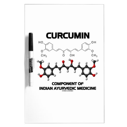 Curcumin Component Of Indian Ayurvedic Medicine Dry Erase Whiteboards