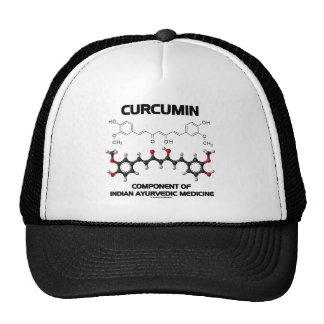 Curcumin Component Of Indian Ayurvedic Medicine Hats