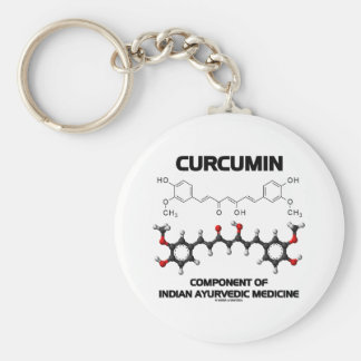 Curcumin Component Of Indian Ayurvedic Medicine Keychain