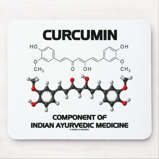 Curcumin Component Of Indian Ayurvedic Medicine Mousepads