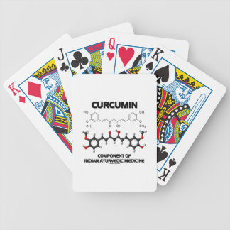 Curcumin Component Of Indian Ayurvedic Medicine Bicycle Card Deck