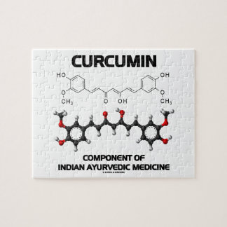 Curcumin Component Of Indian Ayurvedic Medicine Puzzle