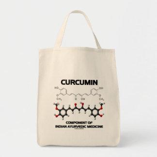 Curcumin Component Of Indian Ayurvedic Medicine Canvas Bag