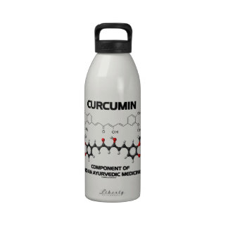 Curcumin Component Of Indian Ayurvedic Medicine Water Bottle