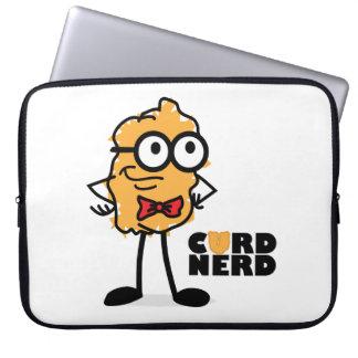 Curd Nerd Laptop Computer Sleeve
