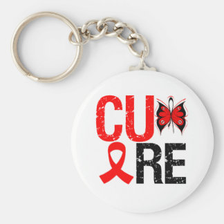 Cure AIDS Keychain