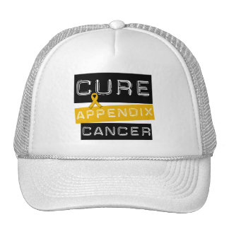 CURE Appendix Cancer Trucker Hat