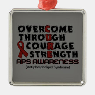 CURE...APS CHRISTMAS ORNAMENT
