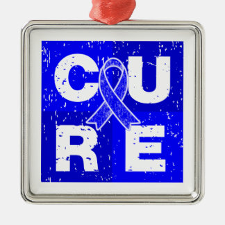 CURE ARDS  Cube Christmas Ornaments