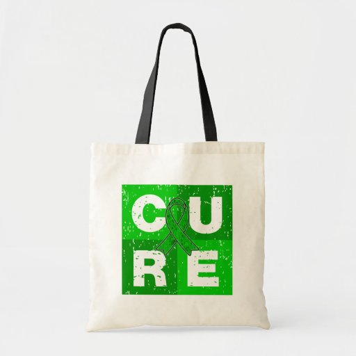 CURE Bipolar Disorder Cube Tote Bags