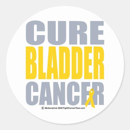 Cure Bladder Cancer Classic Round Sticker