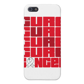 CURE Bone Cancer Collage Case For iPhone 5