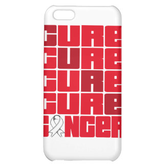 CURE Bone Cancer Collage iPhone 5C Cases