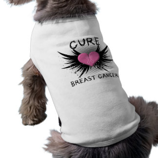 Cure Breast Cancer Pet Tee Shirt