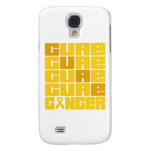 CURE Childhood Cancer Collage Galaxy S4 Cases