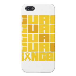 CURE Childhood Cancer Collage Cases For iPhone 5