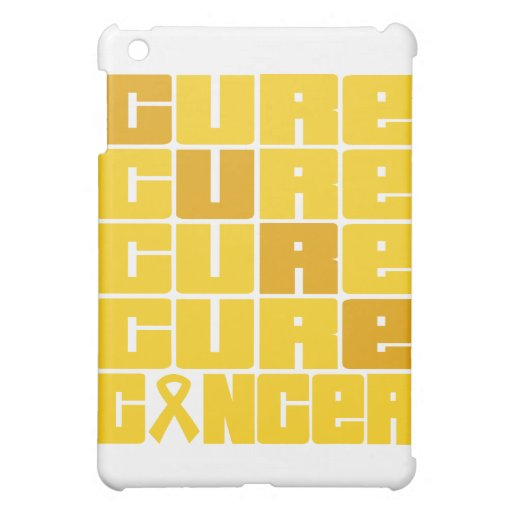 CURE Childhood Cancer Collage iPad Mini Case