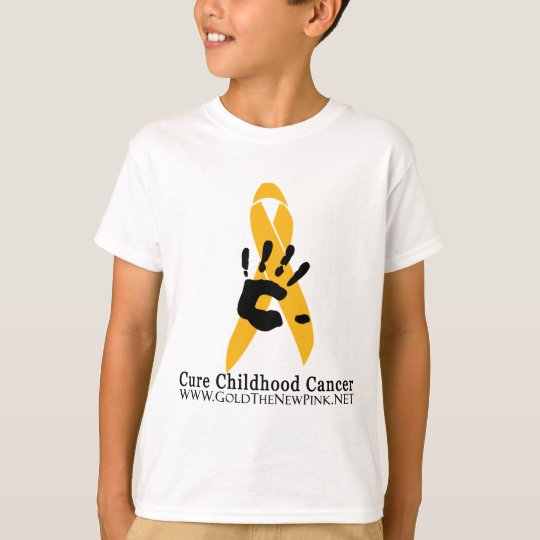 CURE Childhood Cancer for the Angel Kids T-Shirt