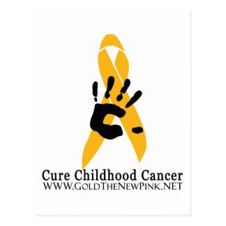 CURE Childhood Cancer Postcard