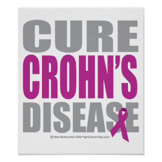 Cure Crohn s Disease Poster