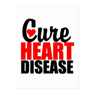 Cure Heart Disease Postcard