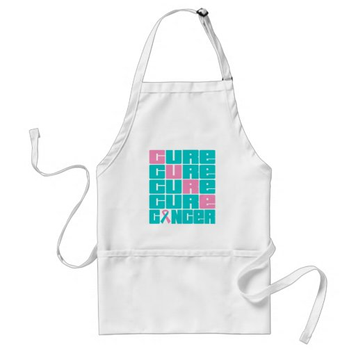 CURE Hereditary Breast Cancer Collage Aprons
