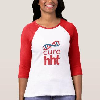 Cure HHT Ladies Baseball Jersey T-Shirt