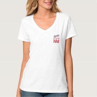 Cure HHT V-Neck T-Shirt