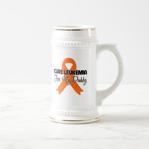 Cure Leukemia For My Daddy Coffee Mugs