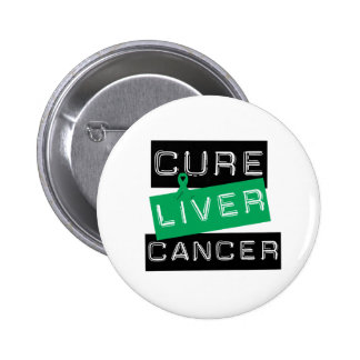 Cure Liver Cancer 6 Cm Round Badge
