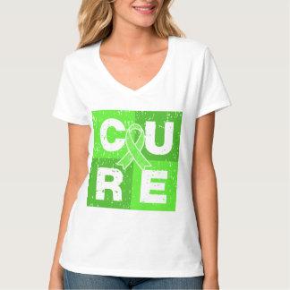 CURE Lyme Disease Distressed Cube Tees