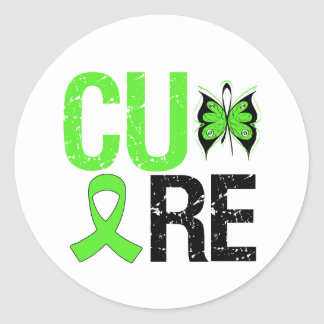 Cure Mental Health Round Stickers
