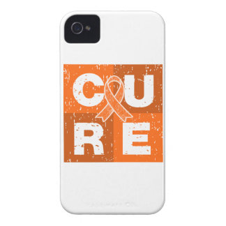 CURE Multiple Sclerosis Distressed Cube Case-Mate iPhone 4 Case