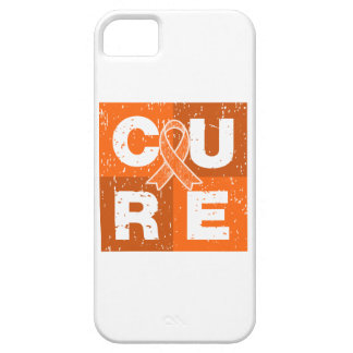 CURE Multiple Sclerosis Distressed Cube iPhone 5 Cases