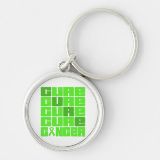 CURE Non-Hodgkins Lymphoma Collage Key Chain