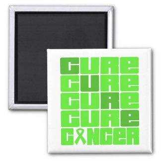 CURE Non-Hodgkins Lymphoma Collage Fridge Magnet