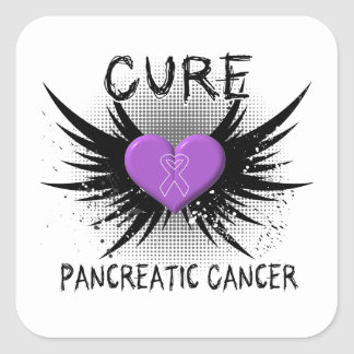 Cure Pancreatic Cancer Square Sticker