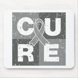 CURE Parkinson's Disease Distressed Cube Mousepads