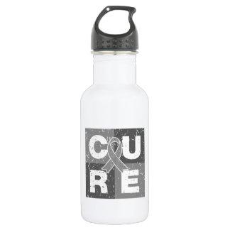 CURE Parkinson's Disease Distressed Cube 532 Ml Water Bottle